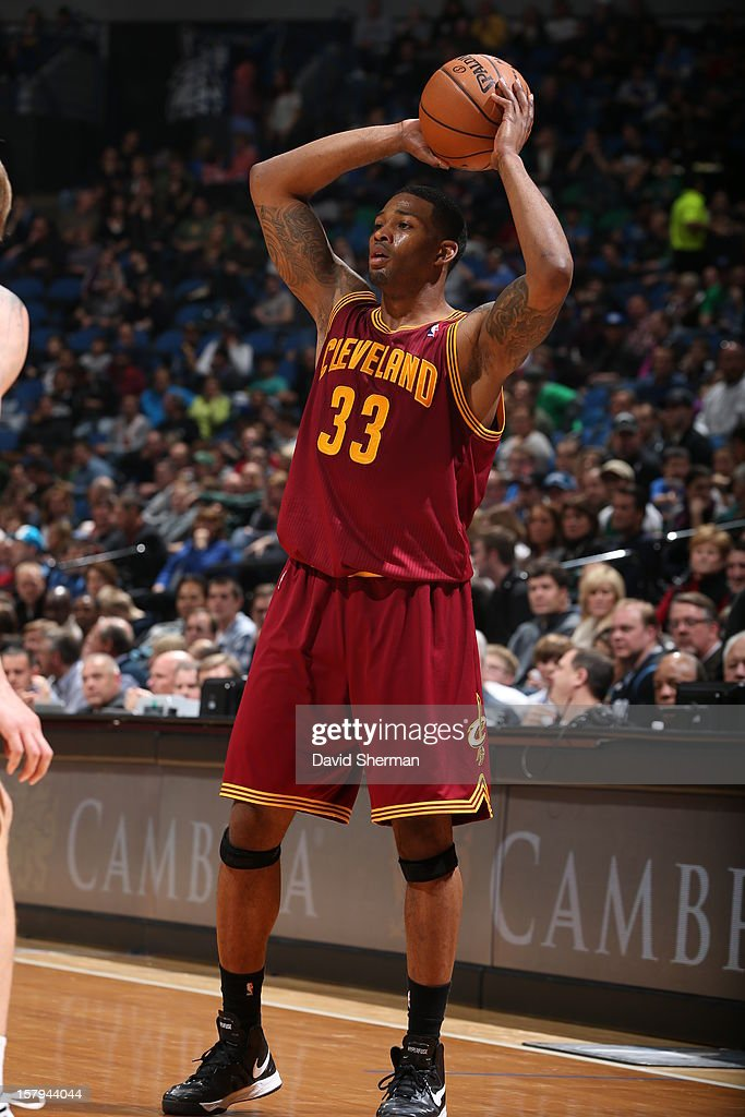 Alonzo Gee #33 of the Cleveland Cavaliers looks to pass the ball against the Minnesota Timberwolves during the game on December 7, 2012 at Target Center in Minneapolis, Minnesota.