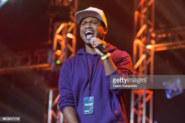 Alonzo Lerone preforms at the #Youtube Black FanFest at Crampton Auditorium at Howard University on October 17 2017 in Washington DC