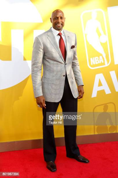 Alonzo Mourning attends the 2017 NBA Awards at Basketball City Pier 36 South Street on June 26 2017 in New York City
