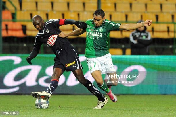Alou DIARRA / Dimitri PAYET Saint Etienne / Bordeaux 16e journee Ligue 1