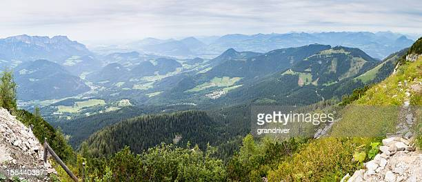 Alp View Panorama from Berchtesgaden