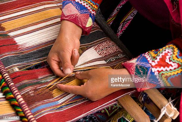 Alpaca Weaving Peru