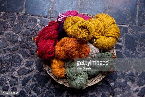 Alpaca Yarn, Center for Traditional Textiles, Cusc