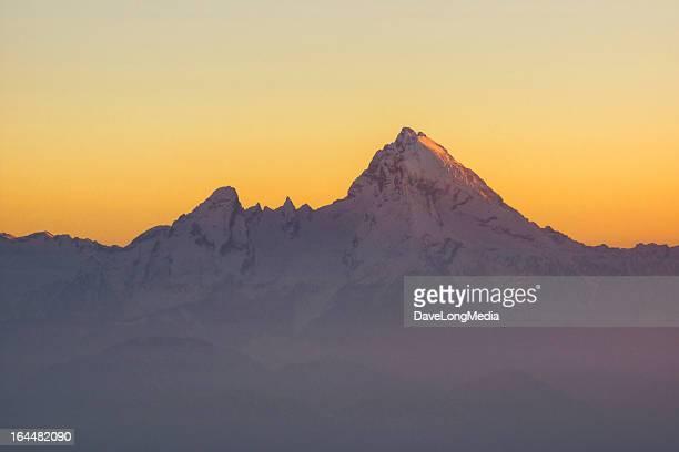 Alpenglow on Germany's Highest Peak