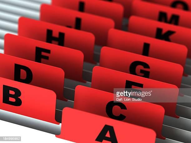Alphabet catalog