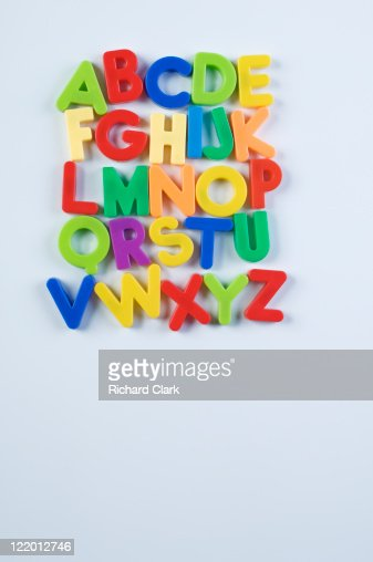 Alphabet fridge magnets  : Photo