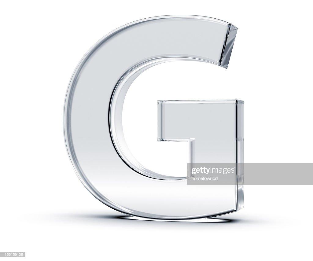 Alphabet G : Stock-Foto