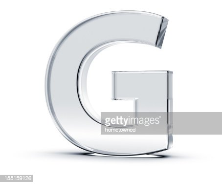 Alphabet G : Stock Photo