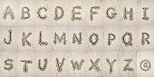 Alphabet in the Sand