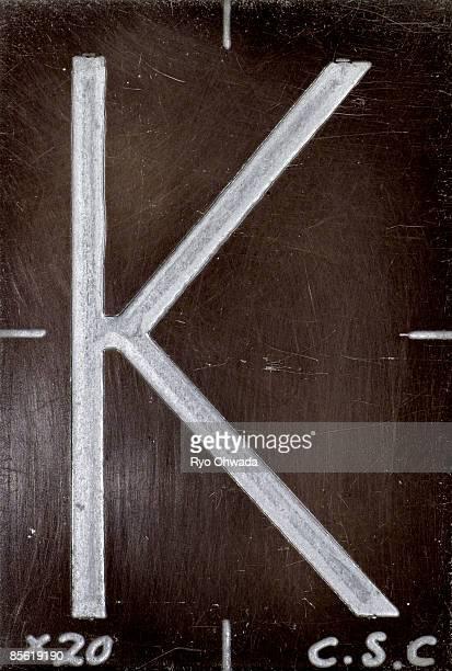 Alphabet letter 'K'
