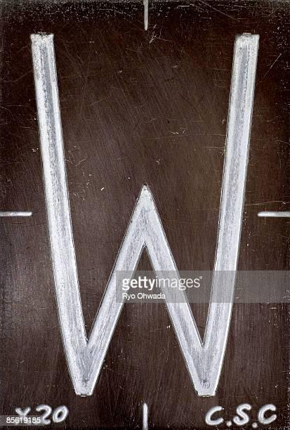 Alphabet letter 'W'