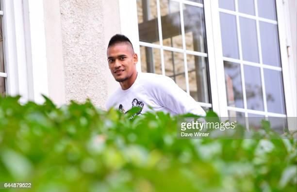Alphonse AREOLA Arrivee des joueurs Equipe de France Clairefontaine Photo Dave Winter / Icon Sport