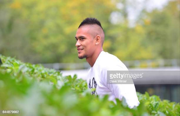 Alphonse AREOLA Arrivee des joueurs Equipe de France Clairefontaine Photo Dave Winter / Icon Sport