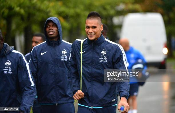 Alphonse AREOLA Entrainement Equipe de France Clairefontaine Photo Dave Winter / Icon Sport