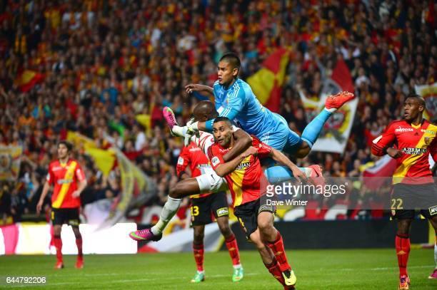 Alphonse AREOLA / Joel SAMI / Ahmed KANTARI Lens / Nancy 34eme journee de Ligue 2 Photo Dave Winter / Icon Sport