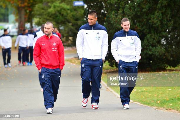 Alphonse AREOLA / Jordan VERETOUT Entrainement Equipe de France Espoirs Clairefontaine Photo Dave Winter / Icon Sport