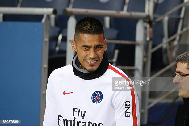 Alphonse Areola of Paris SaintGermain during the French Ligue 1 match between Paris SaintGermain and FC Lorient at Parc des Princes on december 21...