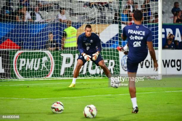 Alphonse AREOLA / Zacharie BOUCHER France / Islande Eliminatoires Euro Espoirs 2015 Photo Dave Winter / Icon Sport