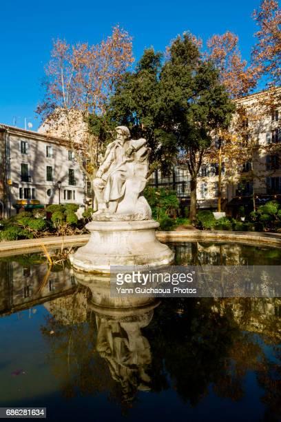 Alphonse Daudet , Nimes, Gard, France
