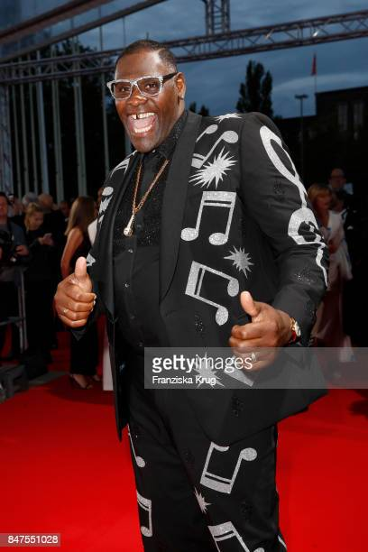 Alphonso Williams attends the UFA 100th anniversary celebration at Palais am Funkturm on September 15 2017 in Berlin Germany
