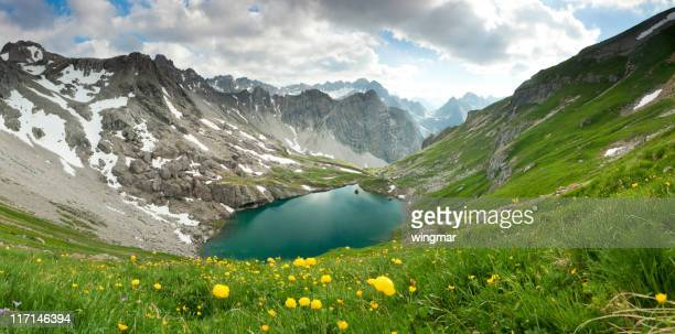 alpin lake gufelsee in tirol - austria