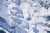 Alpine glacier, Switzerland