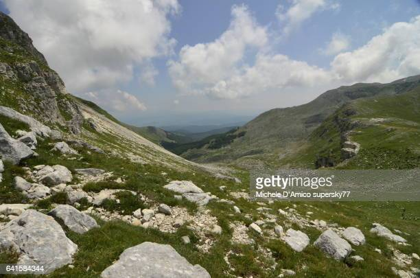 Alpine habitats in the Appennines