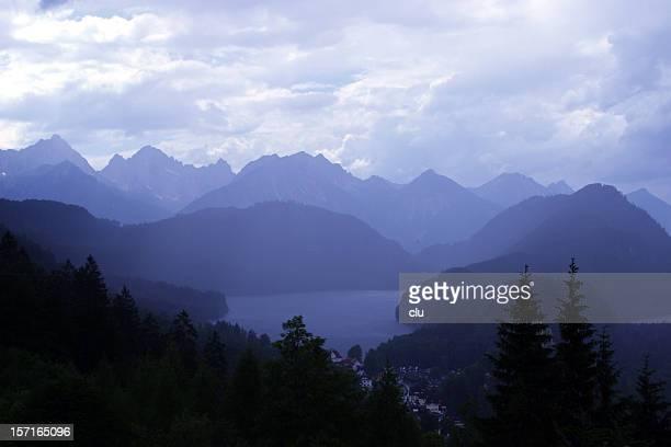 Lac de la montagne bleue