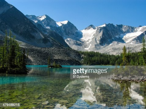 Alpine Lake : Stock Photo
