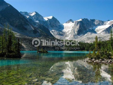 Alpine Lake : Stock Photo