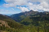 Alpine landscape at Olympic National Park
