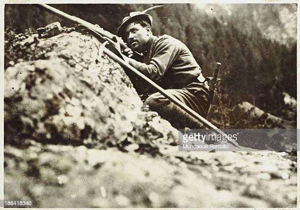 ARMY Alpine lookout 1917 Gelatine process Rome Central Museum of the Risorgimento
