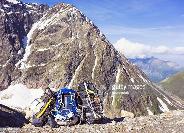 Bergsteigen Es stehen u. a. folgende Geräte