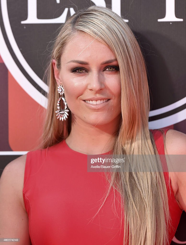 Alpine ski racer <a gi-track='captionPersonalityLinkClicked' href=/galleries/search?phrase=Lindsey+Vonn&family=editorial&specificpeople=4668171 ng-click='$event.stopPropagation()'>Lindsey Vonn</a> arrives at The 2015 ESPYS at Microsoft Theater on July 15, 2015 in Los Angeles, California.