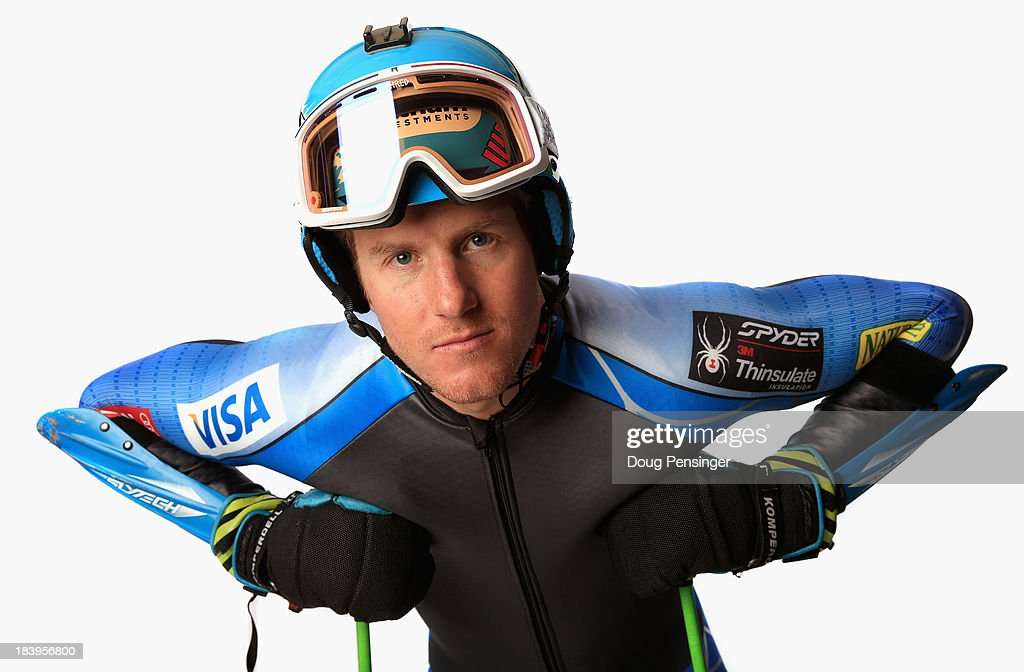 Alpine skier Ted Ligety poses for a portrait during the United States Olymic Committee Media Summit ahead of the 2014 Sochi Winter Olympics at the Canyons Grand Summit Lodge on September 30, 2013 in Park City, Utah.