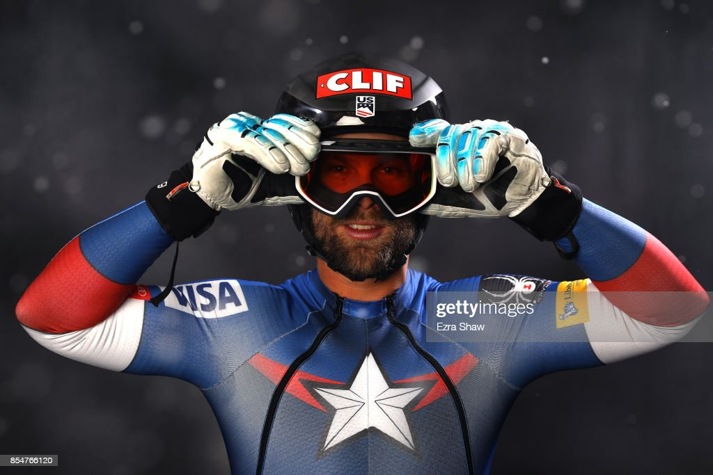 Alpine Skier Travis Ganong poses for a portrait during the Team USA Media Summit ahead of the PyeongChang 2018 Olympic Winter Games on September 27, 2017 in Park City, Utah.