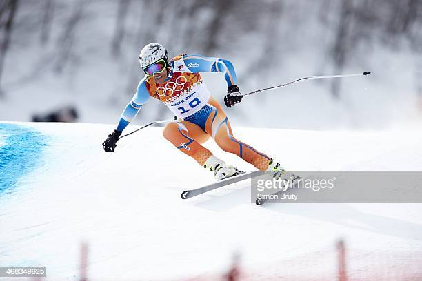 2014 Winter Olympics Norway Aksel Lund Svindal in action during Men's Downhill at Rosa Khutor Alpine Center Krasnaya Polyana Russia 2/9/2014 CREDIT...