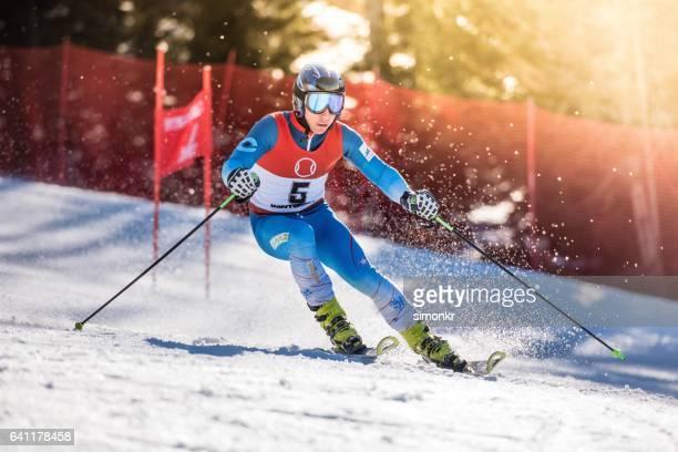 Alpine Skiing Giant Slalom