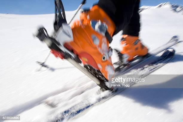Alpine Touring Ski Boots and Skis