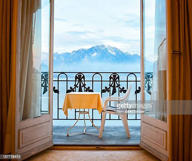 French doors stock photos and pictures getty images for French balcony design