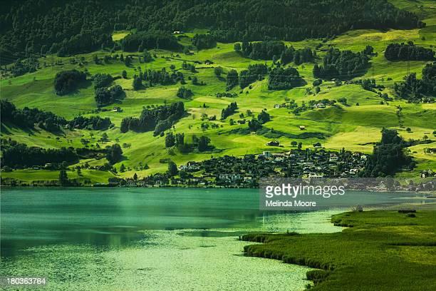 Alpine Village in Zug Switzerland