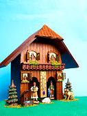 Alpine weather house