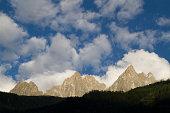 Alps behind Chamonix