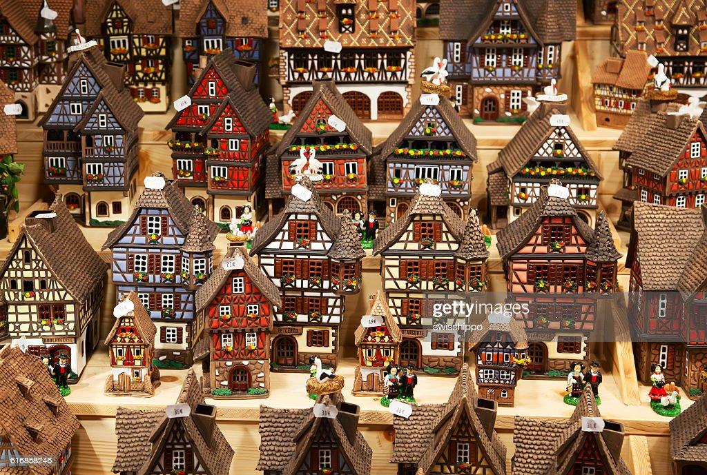 Alsatian houses : Stock Photo