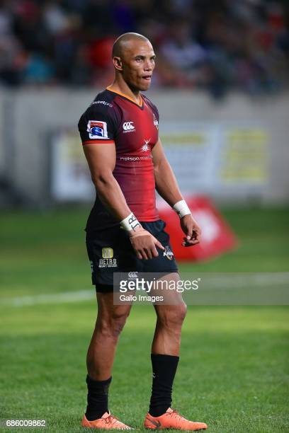 Alshaun Bock of Southern Kings during the Super Rugby match between Southern Kings and Brumbies at Nelson Mandela Bay Stadium on May 20 2017 in Port...