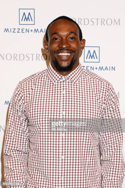 Alshon Jeffery Personal Appearance for Mizzen and Main at Nordstrom The Plaza at King of Prussia September 25 2017 in King of Prussia Pennsylvania