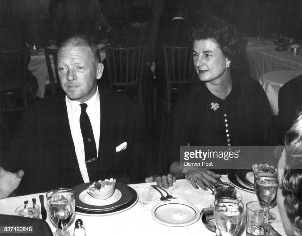 Also at the dinner were Mrand Mrs John Evans Jr whose daughter Miss Sheila Daly will be presented to Denver society at the formal Dec 22 event Credit...