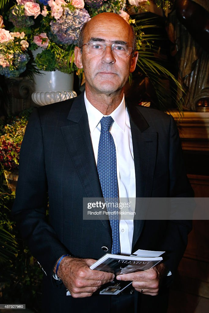 Alstom, <a gi-track='captionPersonalityLinkClicked' href=/galleries/search?phrase=Patrick+Kron&family=editorial&specificpeople=539569 ng-click='$event.stopPropagation()'>Patrick Kron</a> attends the AROP Charity Gala with Opera 'L'enlevement au Serail' from Mozart at Opera Garnier on October 16, 2014 in Paris, France.