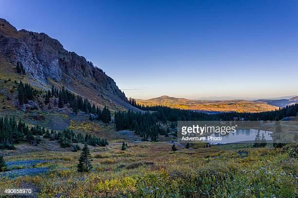 Lac Alta magnifique paysage de montagne des Alpes