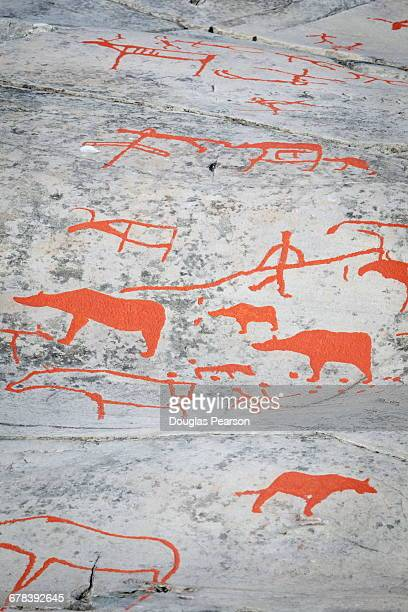 Alta Rock Art, UNESCO World Heritage Site, Alta, Finnmark, Norway, Scandinavia, Europe
